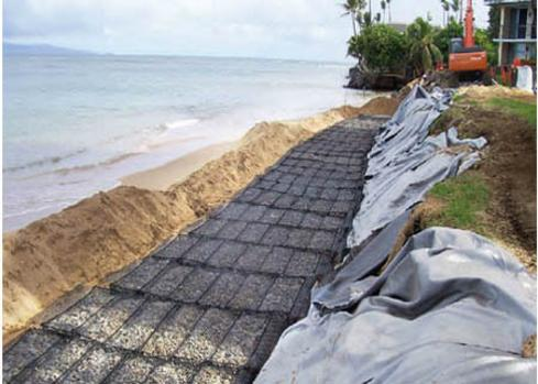 OCEAN FRONT EROSION CONTROL - DURA-GUARDTM  MATTRESSES