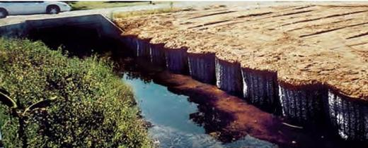 "BARREL SHAPED GABIONS ""MARINE CELLS""  USED IN FLOOD CONTROL PROJECTS"